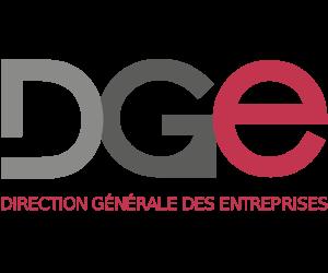 Logo de la direction générale des entreprises DGE